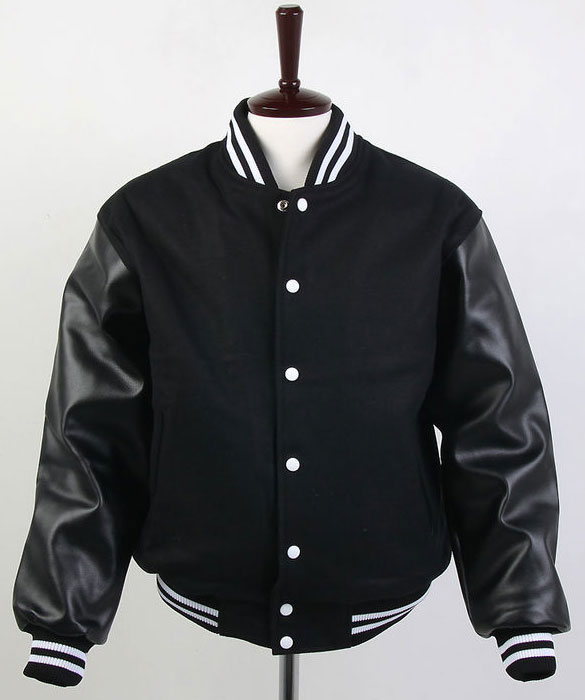 Wool/Leather Varsity